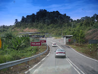 Immigration/Customs Checkpoint of Brunei Labu