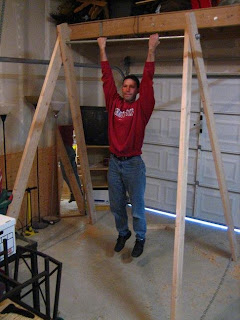 live for improvement diy 50 portable pull up bar
