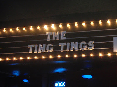 Ting Tings at the Paradise
