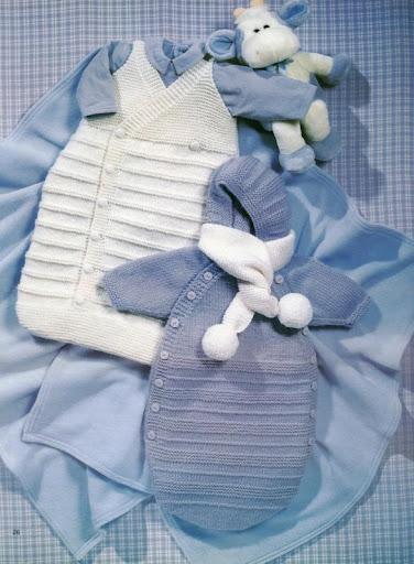 Мастер-класс по вязание новорожденным 687