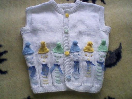 Anlat�ml� bebek yelek modelleri 2012