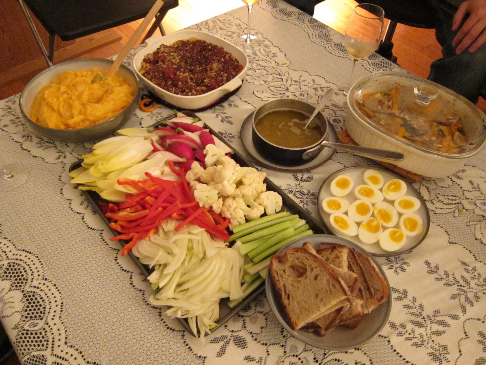 This Designer Cooks: Supper Club: Potluck Bar-B-Que