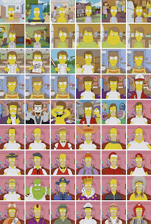Evolucion Hommer Simpson