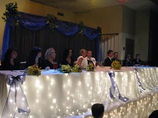 Memorable Moments Decor Rentals: Black White & Royal Blue Wedding