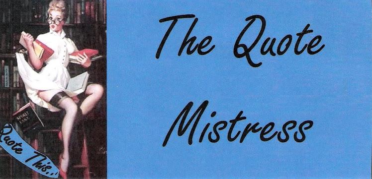 Quote Mistress