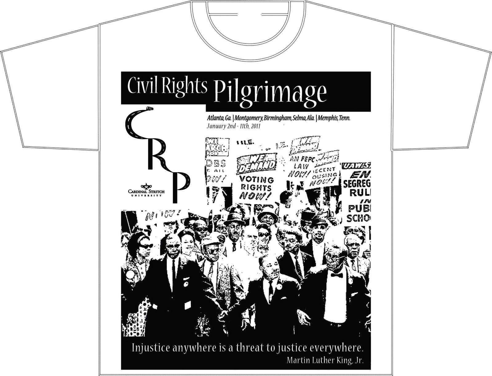 Farmer Designer Civil Rights Pilgrimage T Shirts