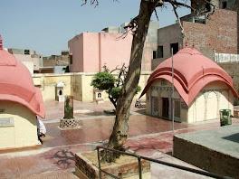 Radha DamodarJi Courtyard