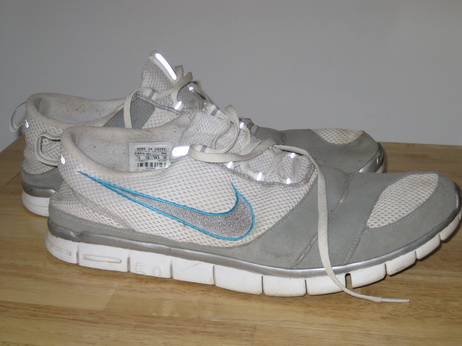 Chris' Ultra Blog: My Zero Drop Nike Free