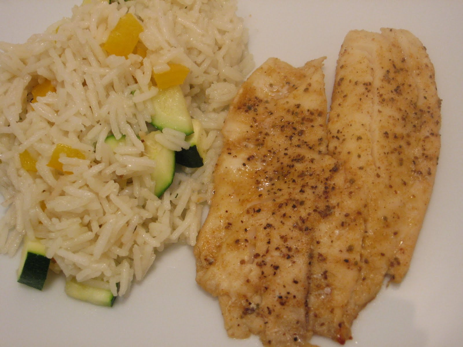 Jenn 39 s food journey old bay grilled fish for Rice side dishes for fish