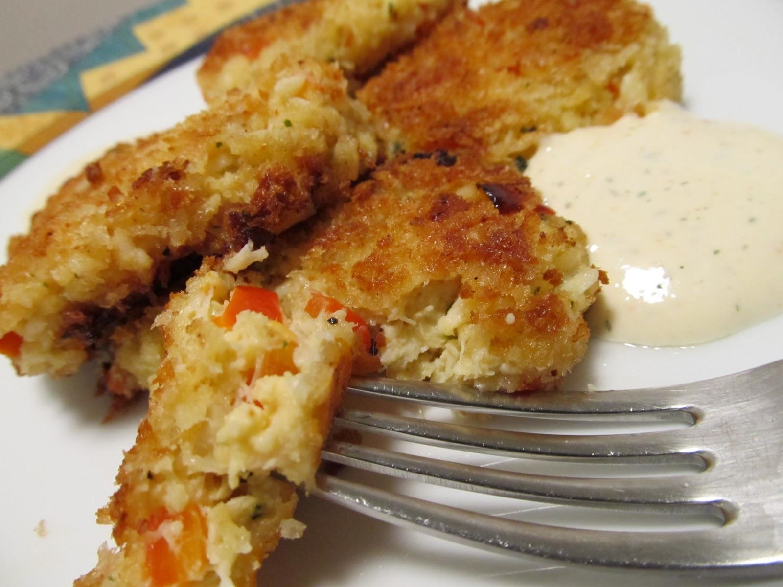 Jenn's Food Journey: Spicy Crab Cakes with Lemon Aioli