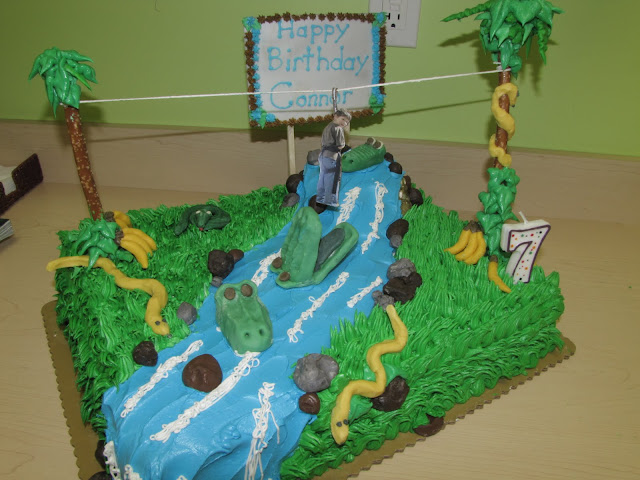 3D Cake Decorating: A jungle birthday cake
