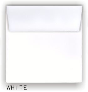 Square Envelopes--new sizes and colors.
