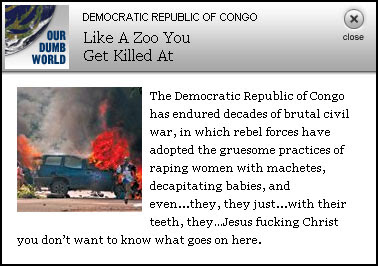 Congo - Our Dumb World