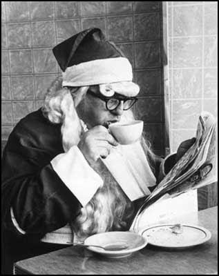 Santa drinking coffee - Jim Steinhardt [clique para ampliar]