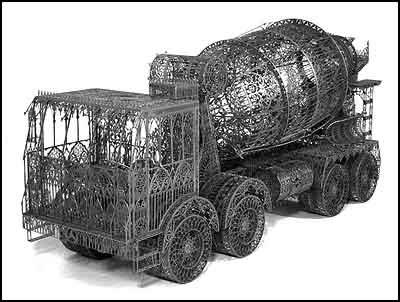 Cement Truck scalemodel - Wim Delvoye [clique para ampliar]