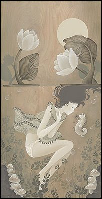 Seapony of the Moonlight Pond - Amy Sol