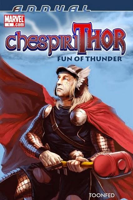 Las peliculas secuela de Thor Chespirithor