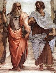 Platón y Aristóteles de Rafael Sanzio.