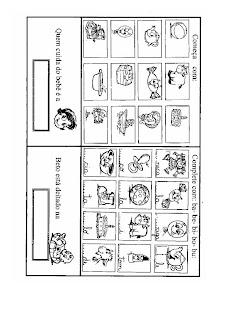 B0002 ATIVIDADES 2 ANO para crianças