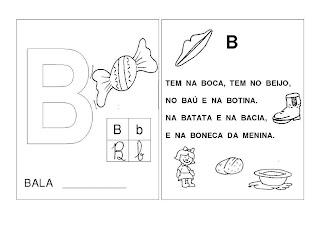 B Verso+do+B ATIVIDADES 2 ANO para crianças