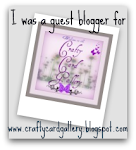 Guest Designer on Crafty Card Gallery