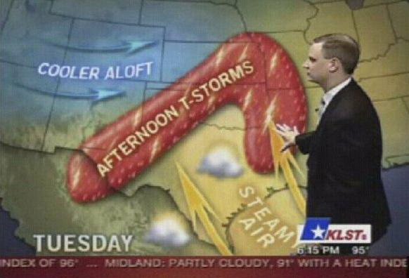 Weather prediction fail