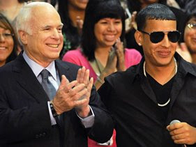 Daddy Yankee upgrades Snoop friendship for McCain