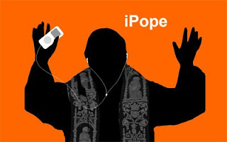 Pope rocks the iPod