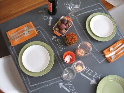 Awesome Chalkboard Table
