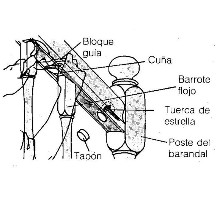 Tips C Mo Reparar Los Barandales De Las Escaleras