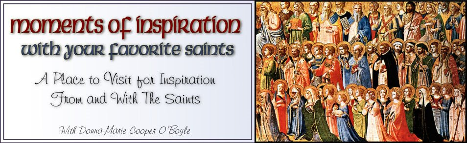 Moments of Inspiration With Your Favorite Saints