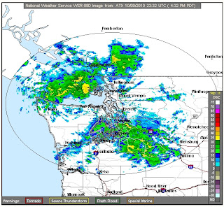 Radar at 4:32PM on 10/9/2010