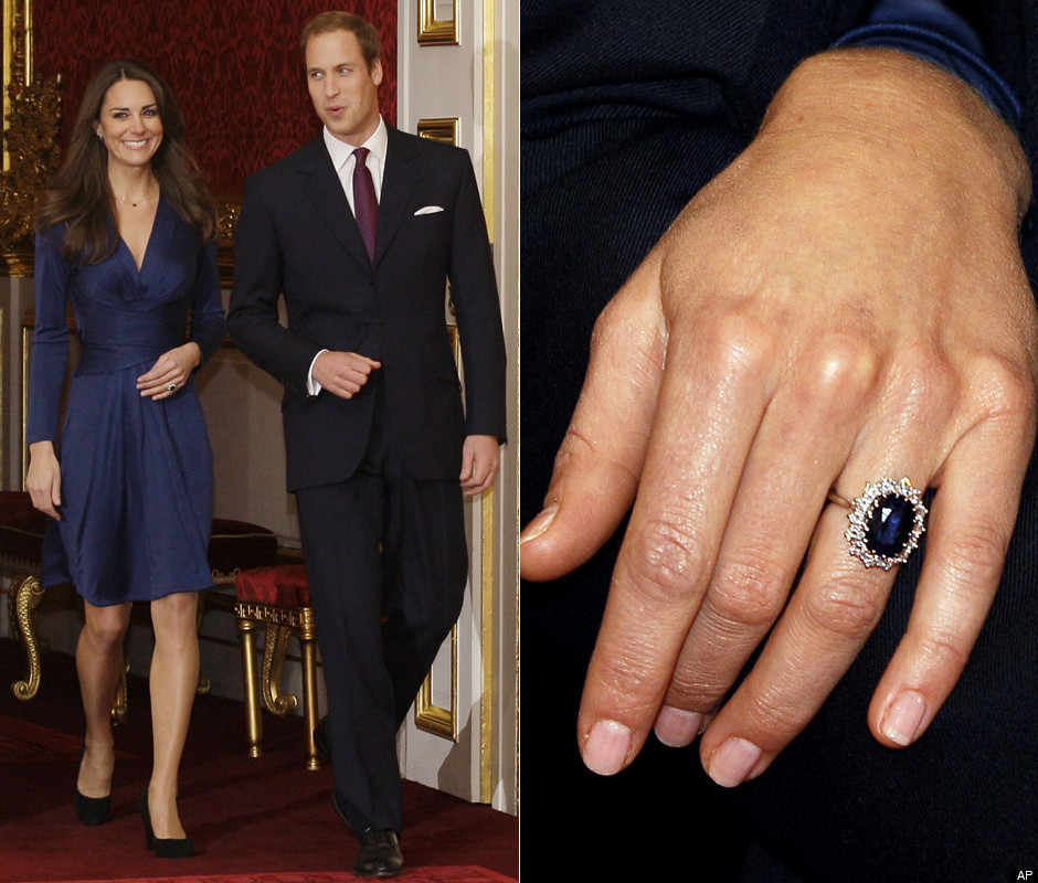 pictures of prince william and kate middleton engagement. Kate Middleton Engagement Ring