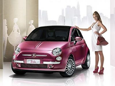 2009 Fiat 500 Barbie Concept. Fiat 500 Barbie Special