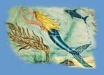 Mermaid Tile Art