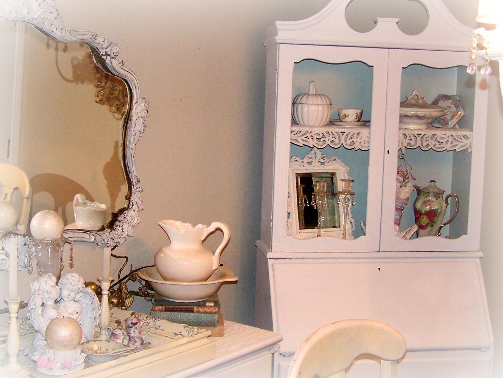 Olivia's Romantic Home: Shabby Chic Cabinet Transformation!