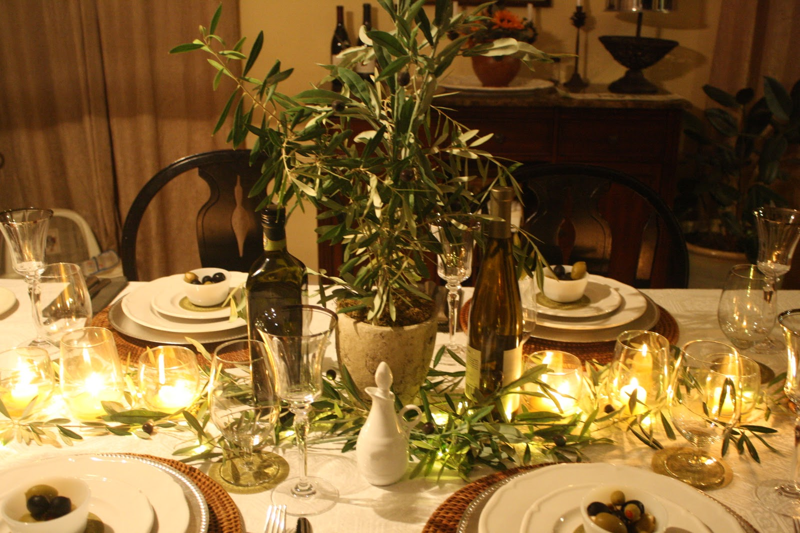 The project table tablescape thursday