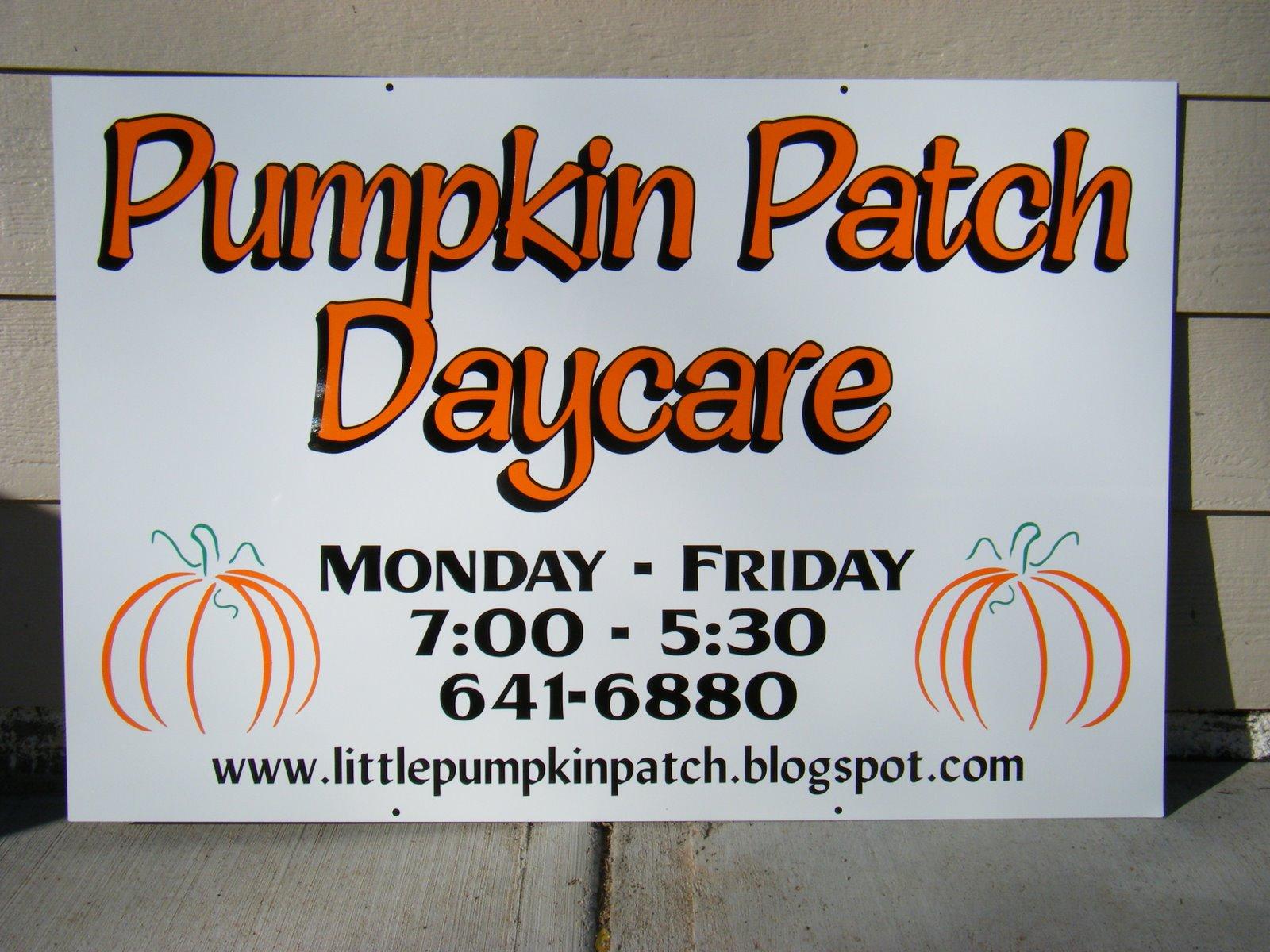 Pumpkin Patch Daycare