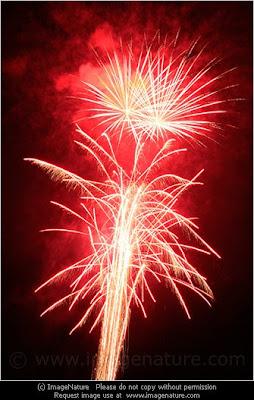 Swiss fireworks