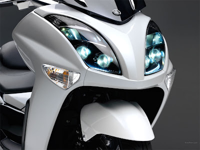 Yamaha Majesty Matic Motorcycle Design