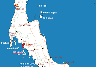 LOCAL COLOR 7 Thailand Railey Beach