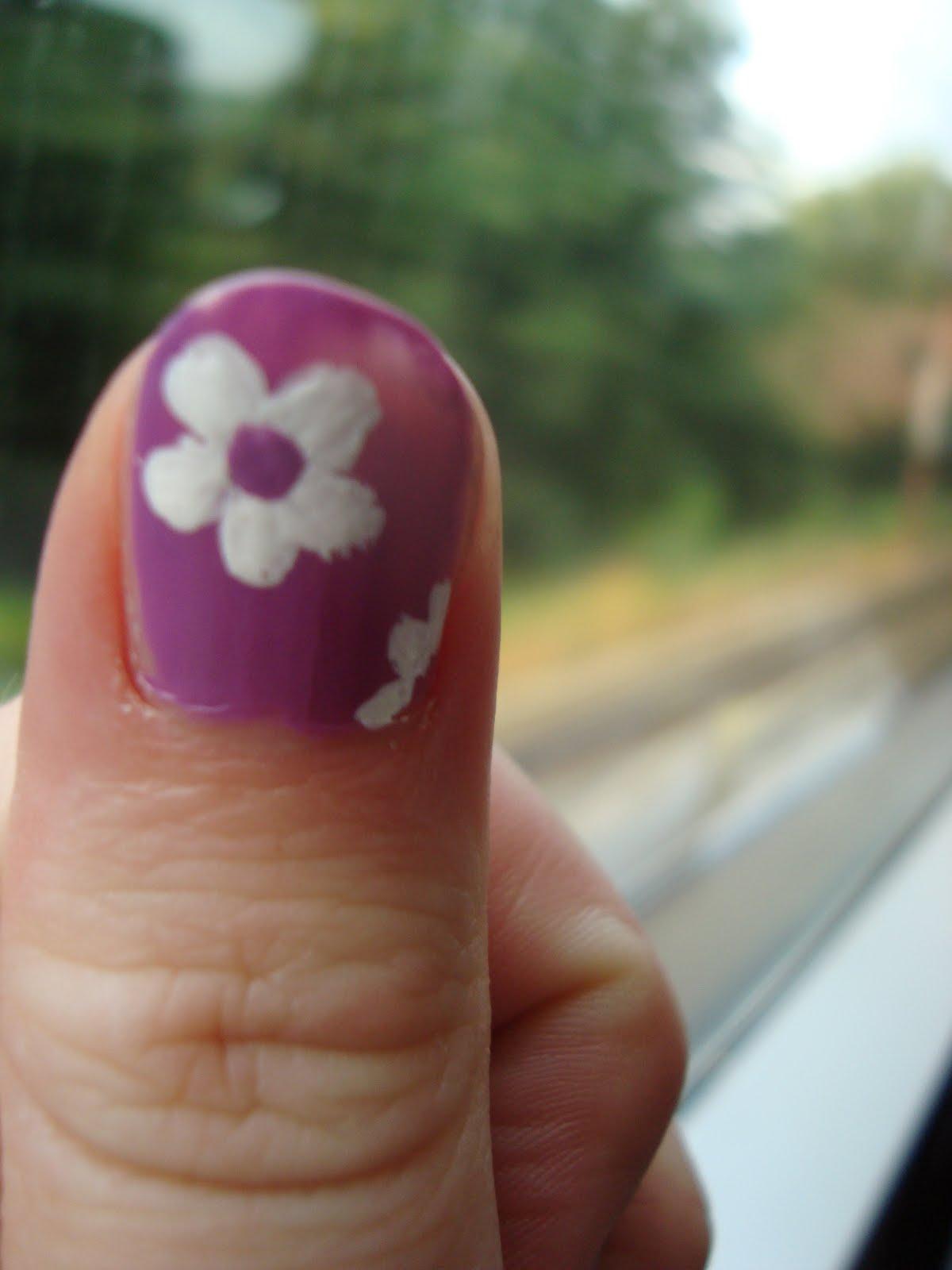 Negle Nymfer - En blog om neglelak: Retro blomster