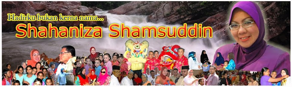 Shahaniza Shamsuddin