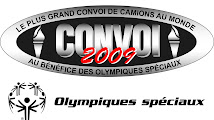 Le plus grand convoi de camions au monde au bnfice des olympiques spciaux Qubec