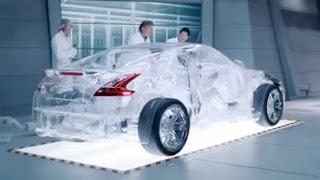 shell transparant car