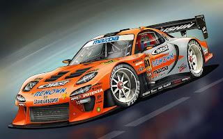 supercar Mazda RX 7 Motegi wallpaper