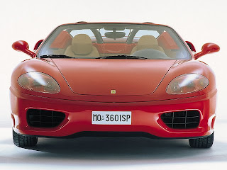 ferrari red color picture