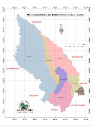 Mapa Mancomunidad Sara-Ichilo