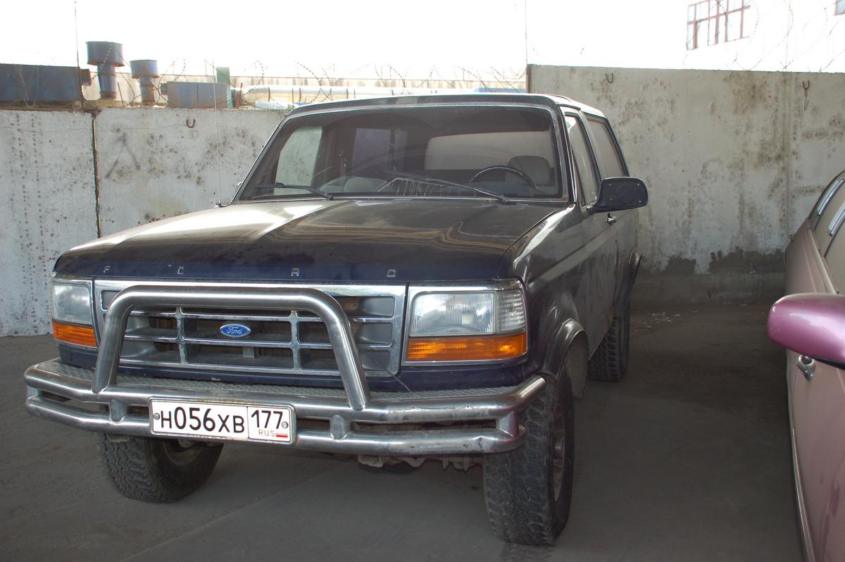 пикап ford bronco 1994 фото изнутри