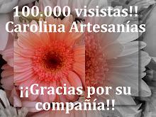 100.000 visitas ..... estoy felíz!